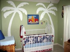 Nursery Reveal: Surfing Safari Beach Boy's Room | Baby Lifestyles