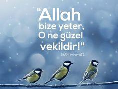 """Rahmân ve Rahîm Allah'ın adıyla: """"Allah bize yeter, o ne güzel vekildir."""" [Al-i imran 173] #ayetler #ayet #güzel #rahman #rahim #islam #müslüman #vekil #ilmisuffa"""