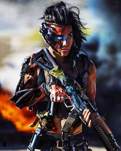 Our Modern Moths Cyberpunk Characters by Shai Daniel Cyberpunk 2020, Cyberpunk Girl, Character Inspiration, Character Art, Science Fiction, Robot Concept Art, Warrior Girl, Warrior Women, Military Girl