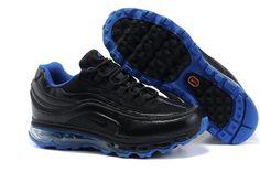 397252 003 Nike Air Max 24-7 Black Black Lyon Blue AMFM0551