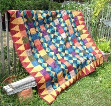 Free Pattern - Santa Fe Quilt by Alison Tudor