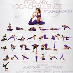 Hi guys! we have another #Yoga4Growth challenge coming for you in February. Tag your Friends and Repost @KoyaWebb and Myself would like to continue helping you getting started with your yoga journey. We will focus on working up to 4 of your favorite poses: Week 1: King pigeon Week 2: Crow pose Week 3: Knee-To-Ear pose Week 4: Forearm stand Each week you will focus on one pose and we will teach you how to work up to it. Basically we will provide beginner poses each day that will lead up