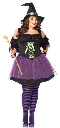 Witch Costume....and it for a big girl like me!!! I love it!! :)