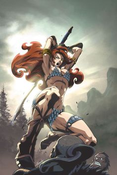 RED SONJA •Alvin Lee
