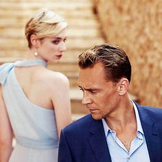 Precursor Press: Elizabeth Debicki and Tom Hiddleston in a new-to-me publicity photo from The Night Manager. Source: http://precursorpress.tumblr.com/post/138633570132/elizabeth-debicki-and-tom-hiddleston-in-a