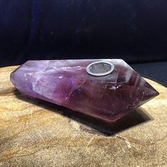 This is handmade Amethyst Crystal Pipe. To view and order please visit my…