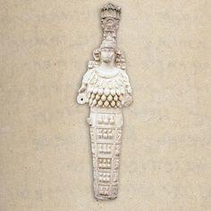 A statue of the Ephesian goddess Artemis