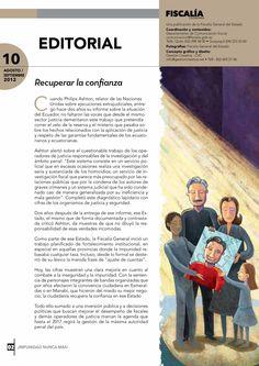 Editorial - Recuperar la confianza