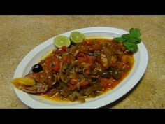 Red snapper Veracruz style. - YouTube