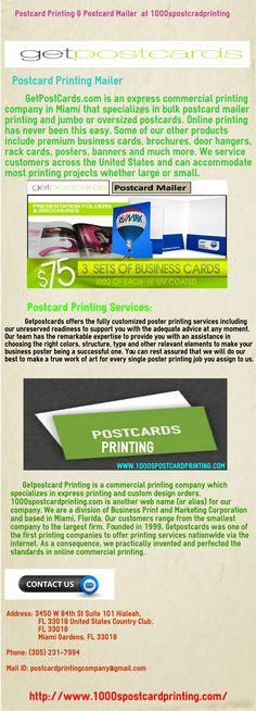 oversized postcards sizes