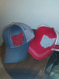 promo code 51f21 58230 Ohio State Trucker Hats, Ohio Baseball Caps, State of Ohio, Womens Ohio Hat