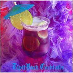 """""""Time we all reach out for something new, let me guide you""""  ...to try this tasty cocktail!  Purple Rain☔️  1.5 oz Vodka 1 oz Blue Curaçao  1 oz grenadine  1 oz Cranberry Juice 1 oz Pineapple Juice *Build in cocktail shaker, SHAKE, Add ice and lime wheels to glass, pour contents over ice in glass. Garnish with umbrella."""