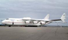 Antonov 225, the largest plane ever flown.