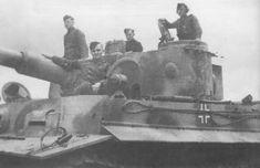 Tiger I of the Schwere Panzerkompanie SS-Panzer Regiment 2 Das Reich. Tiger Tank, Tiger Ii, Military Armor, Armored Fighting Vehicle, Panzer, German Army, Pearl Harbor, Armored Vehicles, Military Vehicles