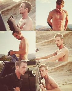 Cam Gigandet. Oh my god yes, how have I not seen these pics before?! #CamCollage