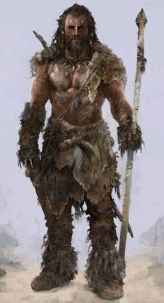 m Barbarian w spear
