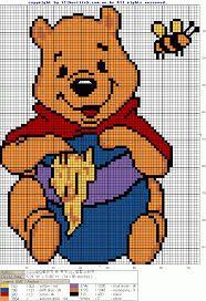37 trendy knitting charts disney winnie the pooh Cross Stitching, Cross Stitch Embroidery, Embroidery Patterns, Disney Stitch, Disney Cross Stitch Patterns, Cross Stitch Designs, Cross Stitch Baby, Cross Stitch Charts, Knitting Charts