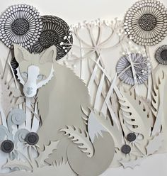 of paper and things: paper arts   paper illustration