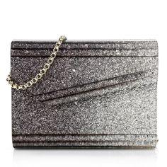 Glamouros: Jimmy Choo Candy Bag iwit multicolored glitter. Fashionette.de
