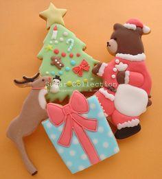 Big christmas cookies