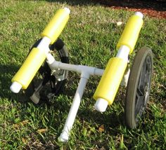 My kayak cart