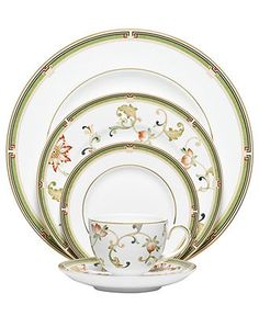 Pretty China  Wedgwood Dinnerware, Oberon Collection - Fine China - Dining & Entertaining - Macy's