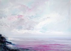 Ready for you! Ask me by e mail info@antonellanatalis.it or use private message . . . . . . . . . . . pink #seascape #seascapepainting #seascapes #canvas #oilcanvas #oilcanvasart #oilcanvaspaiting #painter #sfumature #shade #rosa #pink #fucsia #sky #watercolour #skyclouds