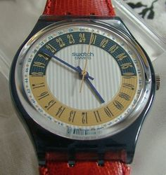 "1994 Swatch ""Campana""  -  24 hour dial watch"