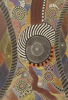 Amazing Australian Aboriginal Artwork by Anna Price Petyarre / My Country is the title of the painting. Tap to view now! Aboriginal Dot Painting, Aboriginal Artists, Dot Art Painting, Painting Tips, Abstract Paintings, Art Paintings, Watercolor Painting, Indigenous Australian Art, Indigenous Art