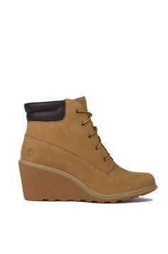 wheat timberland heels for women