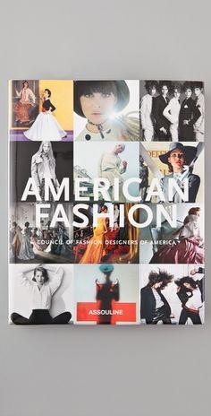 American Fashion Book  Council of Fashion Designers of America