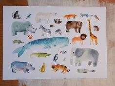 Jana Nachlingerová Moose Art, Ipad, A2 Size, Instagram Posts, Kids, Poster, Animals, Illustrations, School