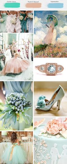 With brides looking ahead to spring nuptials, Strictly Weddings explores the eclectic and ethereal palette of Spring 2015 Wedding Color Trends.