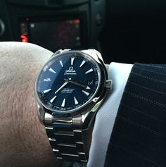 OMEGA Seamaster Aqua Terra Master Co-Axial Chronometer In Stainless Steel Circa 2015 - https://omegaforums.net