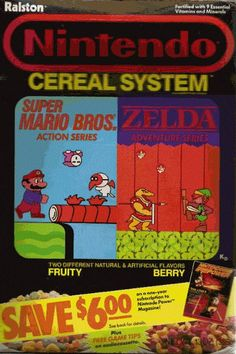 One of the things that shaped me. Great 80's kid cereals