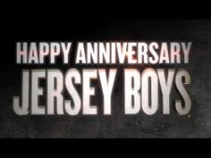10 of our favorite lines from JERSEY BOYS to Celebrate 10 years on Broadway! Jersey Boys, Happy Anniversary, Google News, 10 Years, Broadway, It Cast, Spanish Class, Vegas, Tube