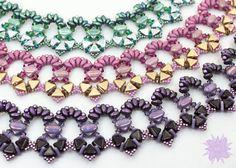 Silky Kheop Ruffle Collar Pattern Superduo by DesertStarCreations