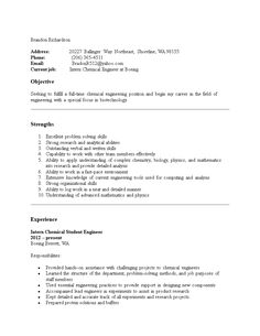 A Resume Template For A Software Engineer You Can