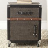 Add a chic travel theme and smart storage into your library or living room with the DecMode Fabric Trunk End Table with Drawers . This vintage style. Trunk End Table, Sofa End Tables, Coffee Tables, Rolling Storage, Hidden Storage, End Tables With Drawers, Global Style, Furniture Deals, Furniture Storage