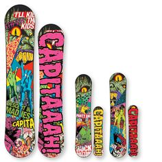 The Shred Shed at Loon Mountain carries Capita snowboards