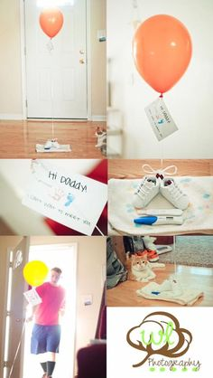 Ideas baby reveal ideas for husband dads pregnancy announcements for 2019 First Pregnancy Announcements, Pregnancy Announcement To Husband, Husband Pregnancy Reveal, Surprise Pregnancy, Surprise Baby, Pregnancy Humor, Pregnancy Tips, Pregnancy Photos, Pregnancy Cartoon