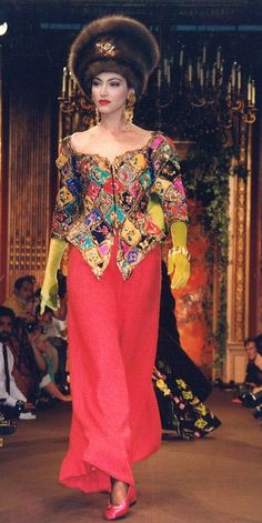 1988 Christian Lacroix Haute Couture Fall-Winter | The House of Beccaria~