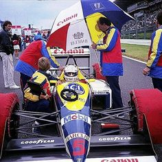NIGEL MANSELL                           WILLIAMS  FW12                                 JADD  CV (NA 3.5L-V8)