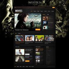 Internet Movie Database  Drupal Theme