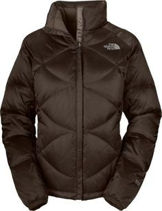 Brown North Face jacket
