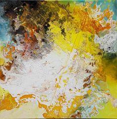 "Saatchi Art Artist Anja Stemmer; Painting, ""Atlantis"" #art"