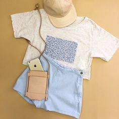タップショーツに新しいカラーが登場。 Ice, ice, baby. Tap shorts in a new color. #AAEMODA#AmericanApparel
