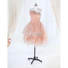 Prinzessin ärmelloses normale Taille romantisches Abiballkleid/ Abendkleid mit Plissierungen