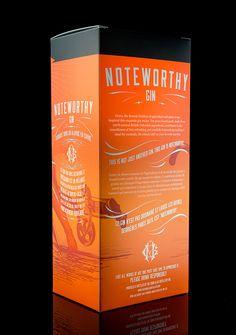 Noteworthy Gin on Behance