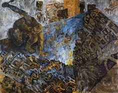 Miquel Barceló, El pintor damunt el cuadro (1983) Spanish Painters, Spanish Artists, Pablo Picasso Cubism, Miquel Barcelo, Neo Expressionism, Majorca, Mondrian, National Museum, Great Artists
